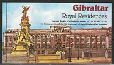 GIBRALTAR SGSB5 1978 25th ANNIV OF CORONATION BOOKLET MNH