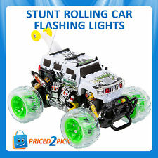 RC SPINNING 5 WHEEL STUNT ELECTRIC RADIO RACE REMOTE CONTROL CAR MONSTER TRUCK