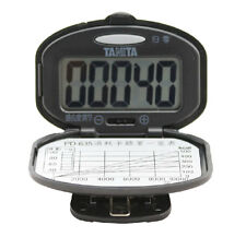 Tanita PD-635 Digital Pedometer Step Counter with Daily Exercise Target Table