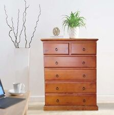 Tallboy Chest of Drawers Brand New Pine