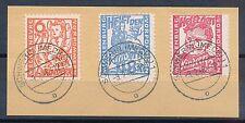 Sowjetische Zone Briefvorlage Mi-Nr: 26-28 Kinderhilfe 1945