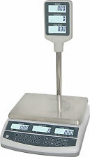 Retail / Price Computing Table Scale w/ Pole Display. Australian Trade Approved