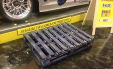 1/10 Scale Blue Pallet 4 Way For Garage Diorama