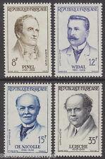 FRANCE - 1958 French Doctors (4v) - UM / MNH