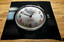 Paul Smith SCARF HUGE WATCH FACE Scarf 100% Silk Woven Made in Italy