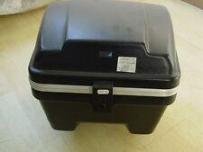 schwarzes Top-Case Koffer speziell für Piaggio SKR Quartz 2; NEU Lagerware