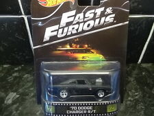 HOTWHEELS RARE FAST AND FURIOUS 70 DODGE CHARGER R/T REAL RIDER RUBBER TYRES ,.