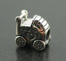 Original Pandora Element Charm 790346 Kinderwagen NEU 925 Sterling Silber