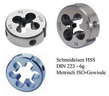 Schneideisen M 14 HSS Außen Gewindeschneider Gewinde Schneider M14 DIN223 rechts