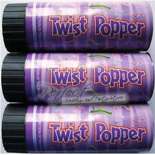 12 Birthday Party Confetti Cannon 11cm Poppers Twist To Eject Colourful Foils