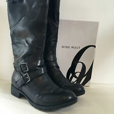 Nine West Biker Boots Size 8.5