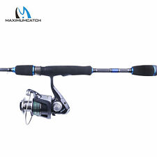 """Spinning Combo 6'9"""" 4pcs Portable Graphite Spinning Rod with Spinning Reel"""
