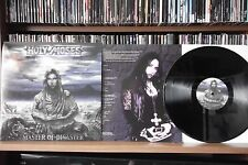 """HOLY MOSES""""MASTER OF DISASTER"""" LP"""
