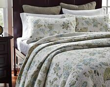 Vintage Cotton Quilted Cover Bedspread Coverlet Throw Blanket-3pcs Queen King