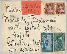 ROMANIA  -  POSTAL HISTORY Brief -  AIRMAIL COVER to CONSTANTINOPLE Turkey 1929