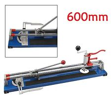 Tile Cutter Shaper Heavy Duty Manual Ceramic Cutting 600mm Professional Cut Tool