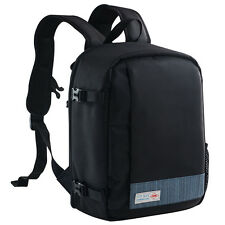 DSLR SLR Camera Bag Laptop Backpack Rucksack Case for Nikon Sony Canon Olympus