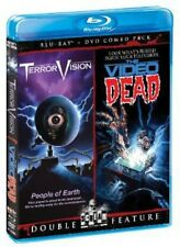 TerrorVision/The Video Dead [2 Discs] [DVD/Blu-ray] (2013, Blu-ray NEW)