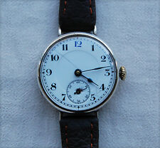 TRENCH WATCH style - Solid Silver – sub dial - Wrist Watch - 1915/20