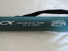 "COURTLAND CX FLY ROD 8ft 6""  #5  3PIECE PLUS TUBE"