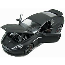 Welly Aston Martin DB9 Coupe Matte Black 1:18 Scale Diecast Model 18045BK