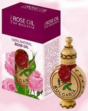 Bulgarian Rose Oil 1.2ml 100% Pure Essential Otto Rosa Damascena, Biofresh