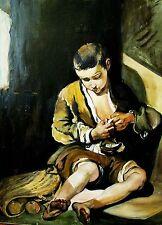 Boy sucht Flöhe- W.Kowal -von B.Murillo