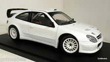 Autoart 1/18 Scale - 80439 Citroen Xsara WRC 04 Plain body white diecast model