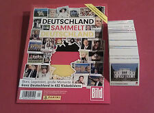 Panini Deutschland sammelt Deutschland - komplett + Leeralbum Album alle Sticker