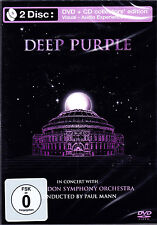 DEEP PURPLE in concert with london symphony orchestra 2DVD NEU OVP/Sealed