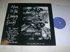 ALIVE IN THE LIVING ROOM *RARE CREATION LABEL VINYL LP*NEAR MINT*