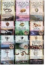 Winston Graham Poldark Series 12 Books Collection Set A Novel of Cornwall New