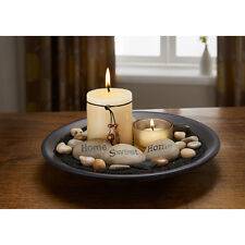 Essence Candle Set with sentiment stones, candles, rocks included - gift set