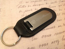 ALFA ROMEO Key Ring Etched and in filled On Leather