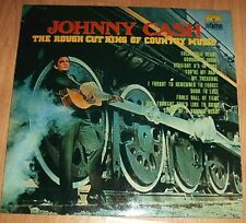 Johnny Cash - The Rough Cut King Of Country Music - LP