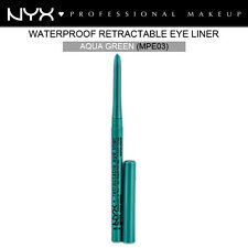 NYX RETRACTABLE EYE LINER EYELINER WATERPROOF AQUA GREEN #MPE03