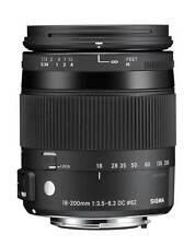 Sigma Canon 18-200/3,5-6,3 Macro HSM OS (C) *NEU*HÄNDLER* EOS EF-S Mount