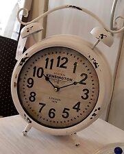 """Tischuhr / Uhr """" Kensington """" / Wecker / Vintage - Shabby chick / Landhaus"""