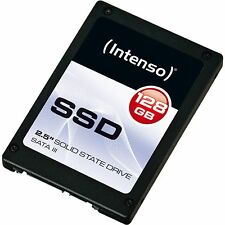 Intenso TOP SSD 128 GB, Solid State Drive, schwarz