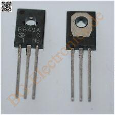 2 x 2SB649A & 2SD669A 4 komplementäre Transistoren 20W -1,5A -160V   TO-126 ...