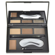 Augen Brauen Make Up Eye Power semi permanent Set Schablonen Palette 4 Farbe HOT
