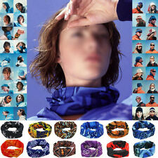Unisex Multicolors Snood Bandana Head Face Mask Neck Warmer Sport Running Scarf