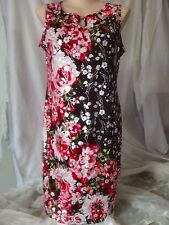 Stunning Black red Silver xmas christmas Party dinner celebration DRESS size 22