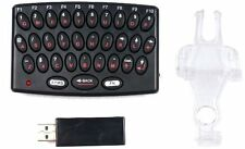 PS3 PLAYSTATION 3 WIRELESS KEYPAD KEYBOARD CLIP ON CONTROLLER CHATPAD CROWN