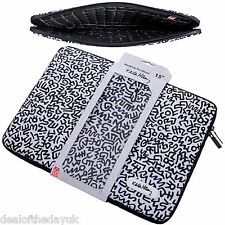 "Macbook Pro Retina 15 Case Sleeve 15.4 Inch Slip Cover Laptop 15"" Black Designer"