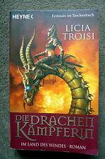 L. Troisi : Die Drachenkämpferin - Im Land des Windes, Roman, TB top Zustand