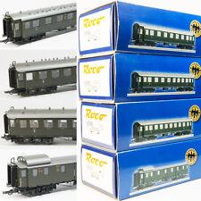 Roco H0 bayrische Schnellzugwagen Set 4 teilig der DRG Epoche II 45584-45587