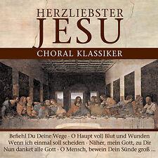 CD Herzliebster Jesu Choral Klassiker von Various Artists 2CDs