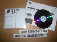 CD Indie Lonelady - Early The Haste Comes (1 song) Promo WARP / Presskit