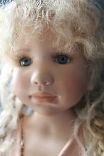 WALTERSHAUSER WPM 2002 BERDINE CREEDY 28 INCH KATINKA DOLL BLONDE HAIR BLUE EYES